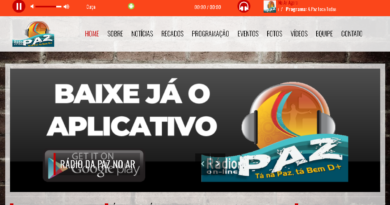 Rádio da Paz on-line no ar